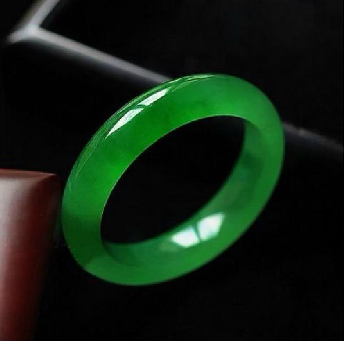 for co bangle green bracelet natural jade fortune dp amazon good