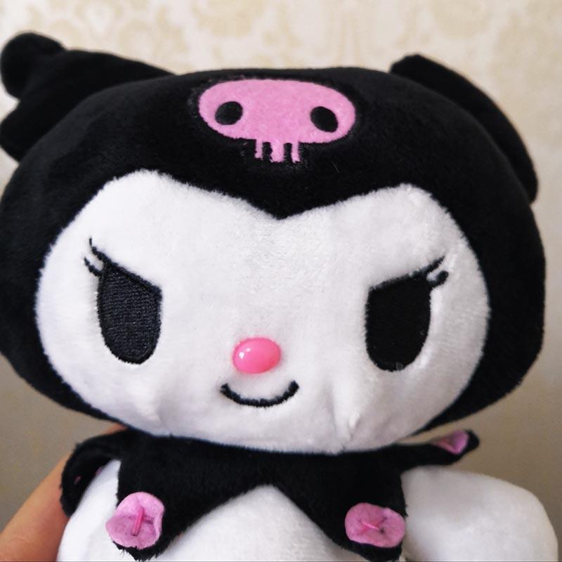 Kuromi Plush Soft Toy Cute Doll Kawaii Japanese Stuffed Animal