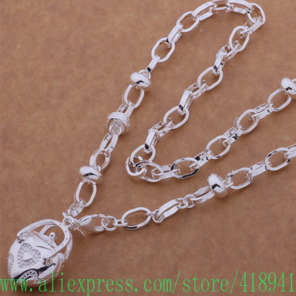 Aliexpress Com Buy 925 Sterling Silver Necklace 925