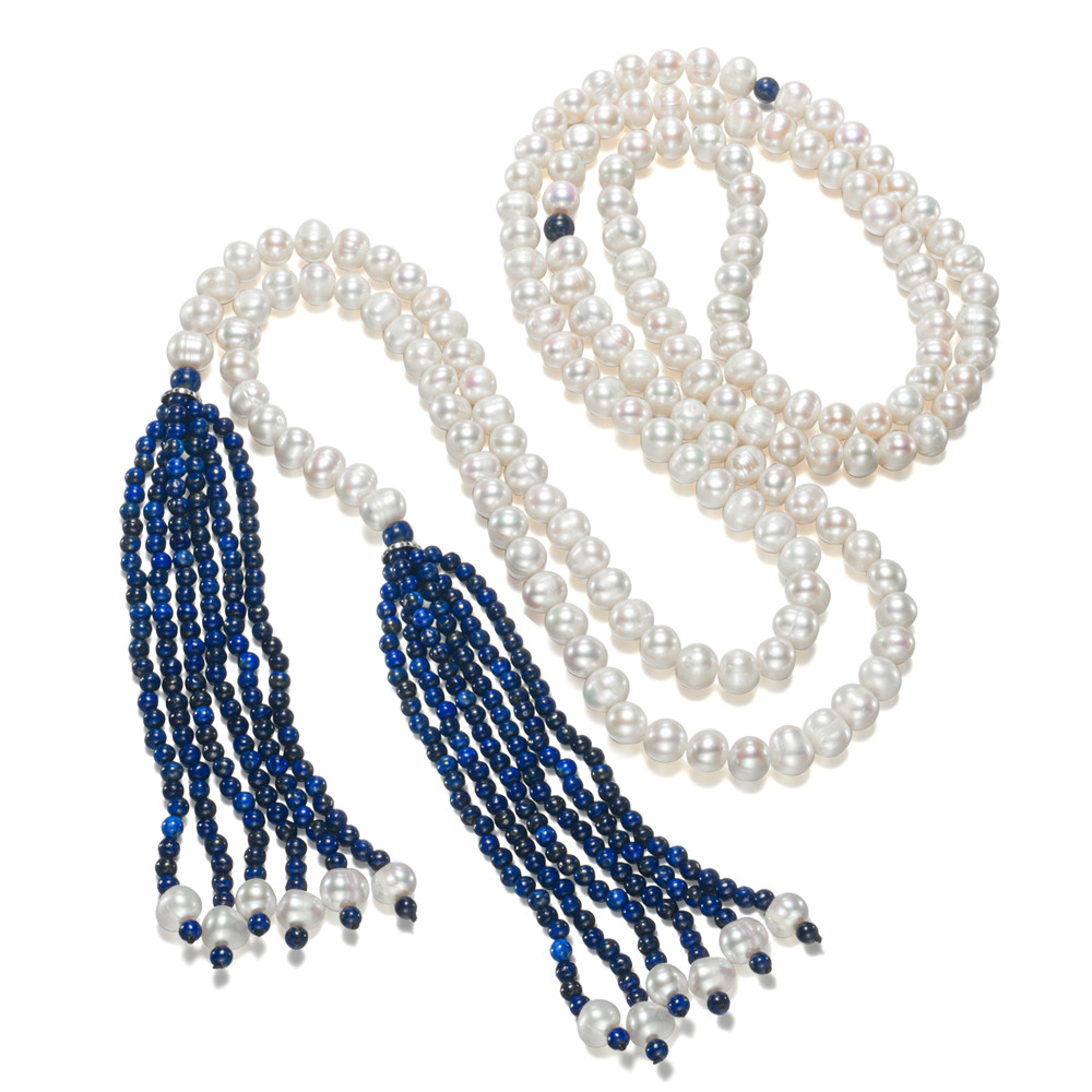SNH 60inches hot sale women natural freshwater pearl necklace with 4mm lapis lazuli long tassel necklace multi layer necklace for asus x401a x501a hm70 sljnv b820 b940 laptop motherboard rev2 0 ddr3 pga989 mainboard 100