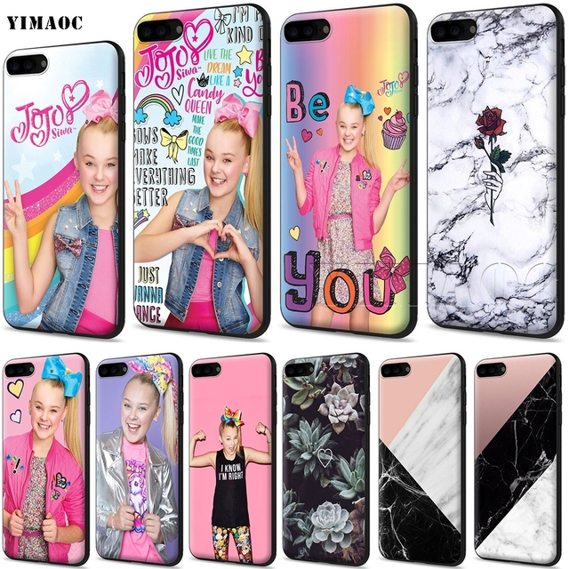 new arrival c0ce1 2485f US $2.47 25% OFF|YIMAOC Jojo Siwa Soft Silicone Case for iPhone XS Max XR X  8 7 6 6S Plus 5 5s se-in Fitted Cases from Cellphones & Telecommunications  ...