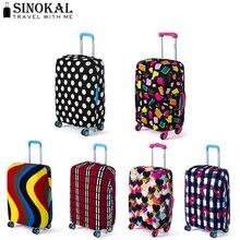 Fall auf Koffer für Reisegepäck Schutzabdeckungen Koffer Gepäck Abdeckung Elastische Abdeckung für 18-32 zoll Koffer (abdeckung Nur)