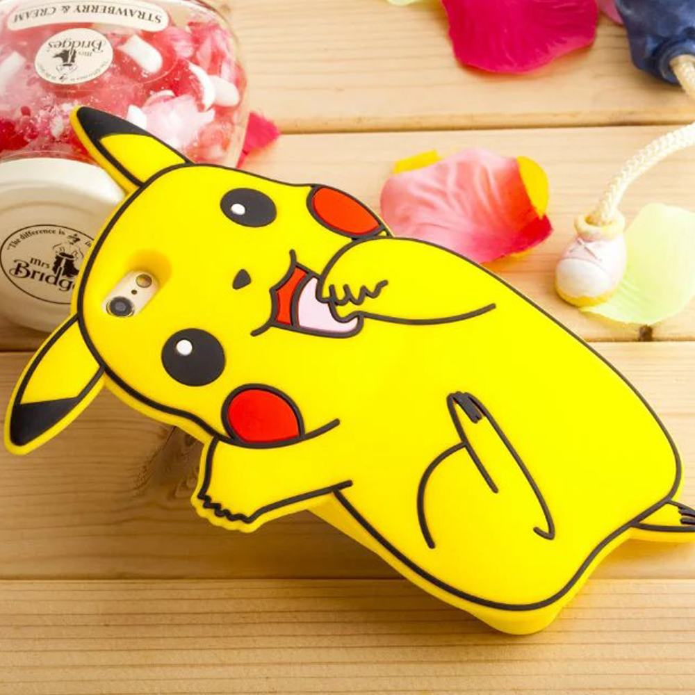 for coque iphone 6 case silicone 3d cute pok mon case iphone 6 cover silicon pokemons case for