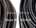 10meters/lot  Free shipping 4mm diameter black/brown /green Necklace leather Cord String DIY jewelry accessories F593