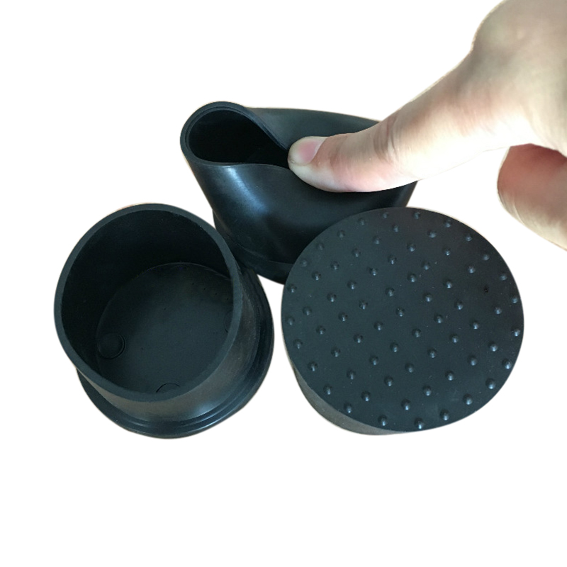 Furniture Chair Round Rubber Foot Pad Tube Caps Protective