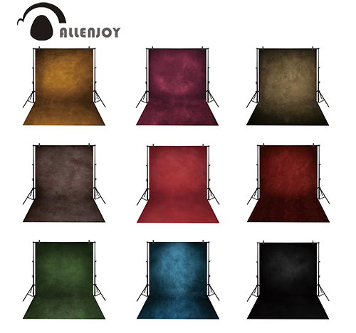 Allenjoy photocall photophone dark colors paper texture profesional old master studio backgrounds photography photo backdrop