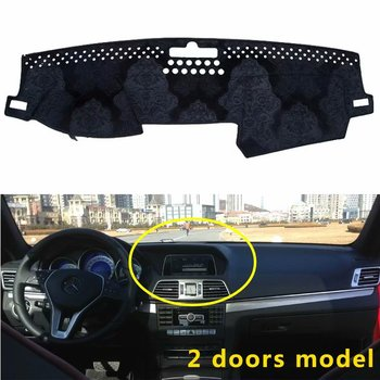 For Mercedes-Benz E-Class w212 E200 E250 E300 E350  2009-2015  Flannel Dashmats Dashboard Covers Dash Pads Car Mat Carpet Custom