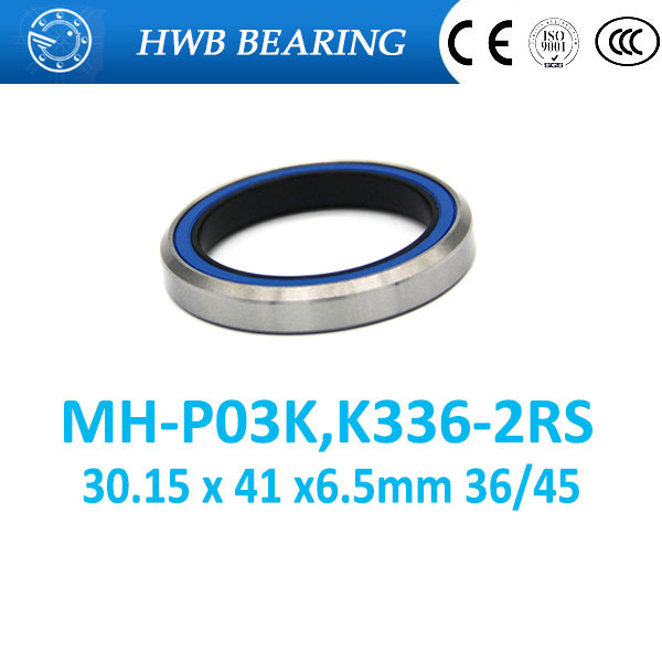 Free Shipping 1-1/8 bearing MH-P03K (30.15 x 41 x6.5mm 36/45) K336-2RS double seal headset bearing for bicycle ACB336  TH-873Free Shipping 1-1/8 bearing MH-P03K (30.15 x 41 x6.5mm 36/45) K336-2RS double seal headset bearing for bicycle ACB336  TH-873