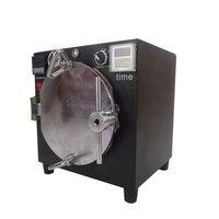NOWY Czarny Mini Wysokie Ciśnienie Autoklawy OCA Klej Naklejki Bubble Usuń Maszyna do Szkła Remontu LCD