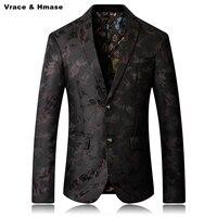 Europäischen stil business freizeit große größe bühne boutique blazer masculino Neue ankunft 2017 top qualität waschen und verschleiß blazer männer
