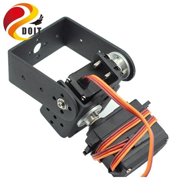 DOIT 2 DOF Tilt Robot Arm 2pcs Servo+1pcs Multifunction Bracket+1pcs long U frame+2pcs Steering Disc+Screws+Cup Bearing цена