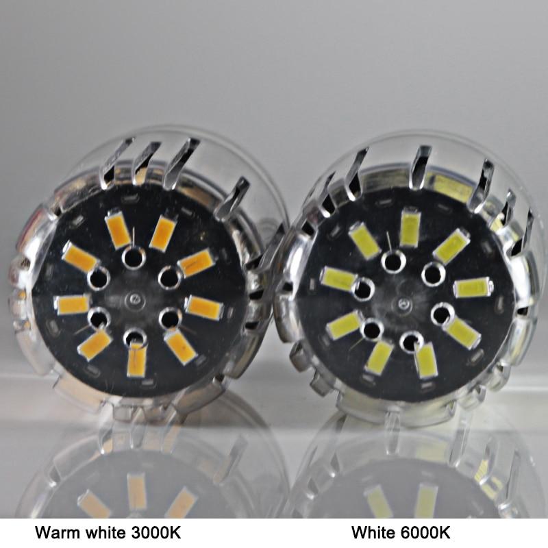 Купить с кэшбэком ampoule led e 14 E 27 bulb light 20W high power bright Ac 110V 220V indoor lighting candle spotlight 5736 99 leds Aluminum lamps