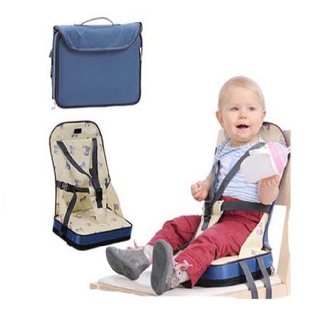 Baby Chair Seat Office No Wheels Arms Portable Booster Dinner Oxford Water Proof Fashion Feeding Highchair For Christmas Gift