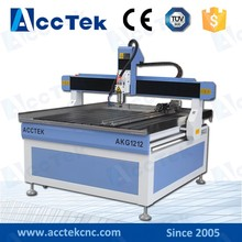 Jinan advertising 1212 router cnc wood machine / cnc router for sale