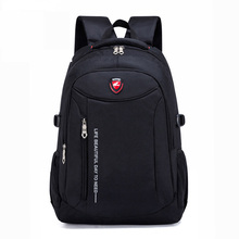 цена на 2019 New Fashion Men school Backpack soft bag Leather Male Luxury Casual Travel Waterproof Backpack Large Capacity Laptop Bags