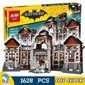 1608 unids nuevo super heroes batman 07055 arkham asylum diy modelo kit de construcción de bloques de regalos movie juguetes compatibles con lego