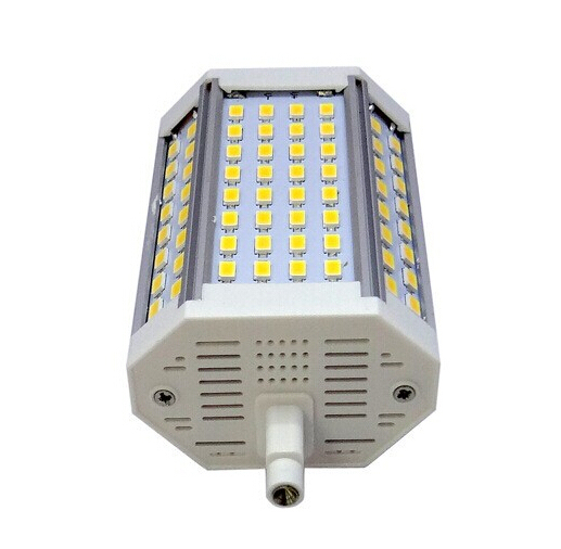 Alta potência 30 w 118mm r7s levou luz sem ventilador colling 64 pcs samsung 5630 smd r7s j118 lâmpada ac85-265v