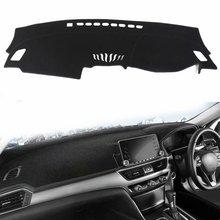 Чехлы для стайлинга автомобилей dashmatt Dash коврик Солнцезащитная панель покрытие ковер пользовательские аксессуары для Honda Accord G10 RHD