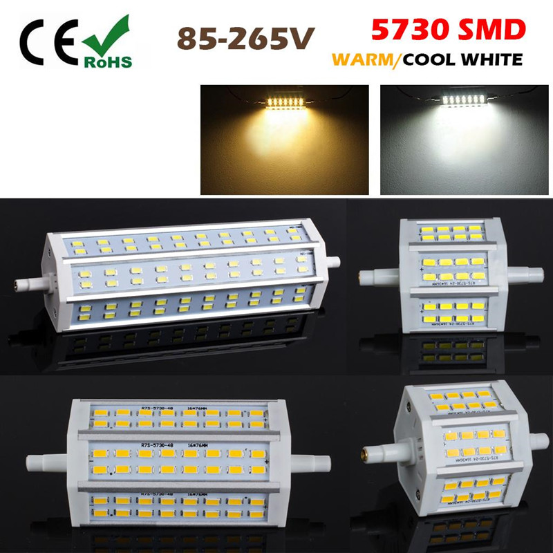 R7S LED Bulb Lamp SMD 5730 Dimmable 15W 20W 30W 78mm,118mm,189mm AC85-265V LED Bulb Spotlight Replace Halogen Floodlight LampR7S LED Bulb Lamp SMD 5730 Dimmable 15W 20W 30W 78mm,118mm,189mm AC85-265V LED Bulb Spotlight Replace Halogen Floodlight Lamp