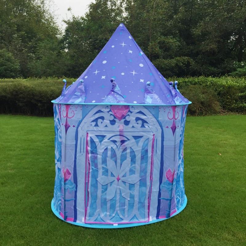 2017 Top Sell Kids Play Tent Juego de niños Casa Ice Princess Tent - Deportes y aire libre - foto 3