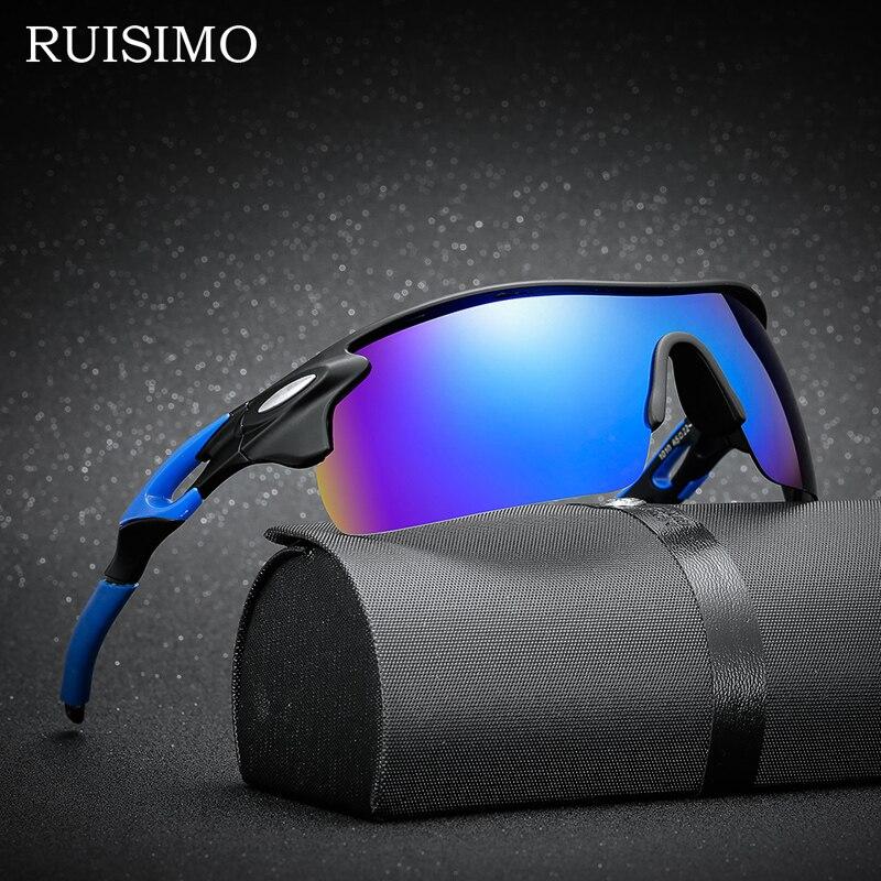 Lunettes De soleil polarisées Sport lunettes De soleil Polaroid lunettes UV400 coupe-vent lunettes De soleil pour hommes femmes pêche rétro De Sol Masculino