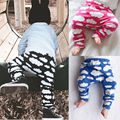 Baby Kids Boys Girls Trouser Pants Toddler Casual Sweat Harem High Waist Long Pant 0-7 Y New Arrive