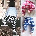 Bebé Infantil Chicos Chicas Pantalones Niño Sudor Casual Harem Pantalón de Cintura Alta Bragas Largas 0-7 Y Nuevo Llega