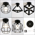 Vintage Ceiling Lights lampshade Corridor Entrance Balcony Living Room Lights SQJ Dropship