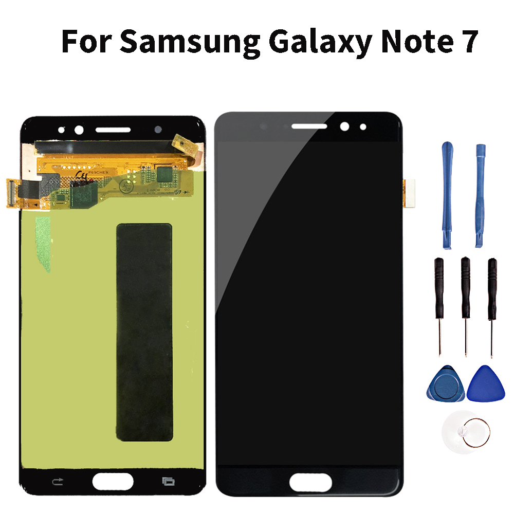 Quality Lcds For Samsung Galaxy Note 7 Lcd Touch Screen Display Digitizer Assembly For Sumsung Note 7 Lcd