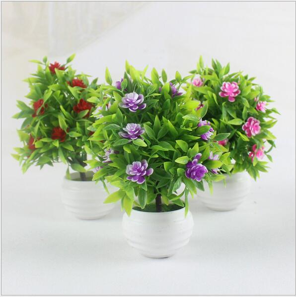 Kunstliche Pflanze Bonsai Grune Pflanze Mini Blume Baum Wohnzimmer