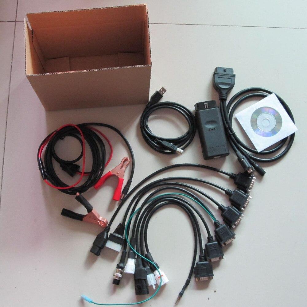 Pour yamaha moto outil de diagnostic pour Suzuki SYM KYMCO HTF PGO 6 marques de moto RMT 6IN1 moteur scanner outil