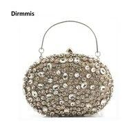 2018 Nowych Kobiet torba wieczór marka moda elegancki portfel diament haftowane pearl ramię torebka lady party prom luksusowe Sprzęgła