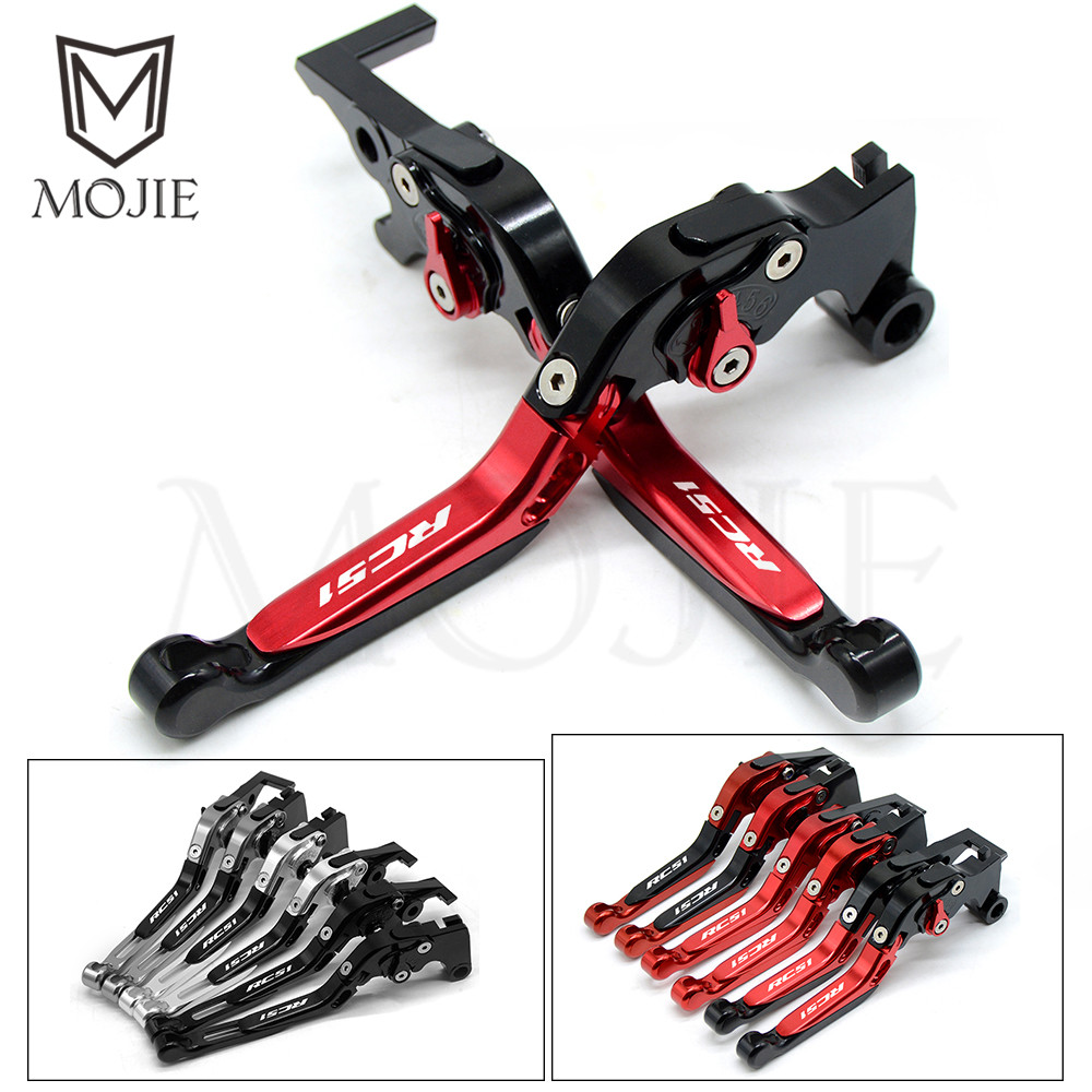 CNC Motorcycle Folding Extendable Clutch Brake Levers Set For Honda RC51 / RVT1000 SP 1/SP 2 2000 2001 2002 2003 2004 2005 2006-in Brake Disks from Automobiles & Motorcycles    1