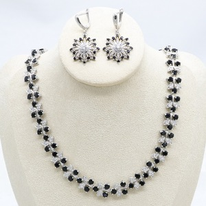 Silver Color Jewelry Sets for