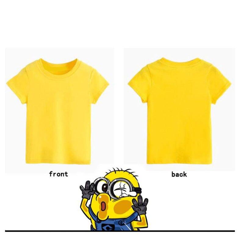 9ac7b0b45 Boys Girls Set Children's Denim Shorts Suit Kids Clothes T Shirt 2pc Minions  Clothing Summer Children Enfant Roupas Menino 1 7Y-in Clothing Sets from  Mother ...