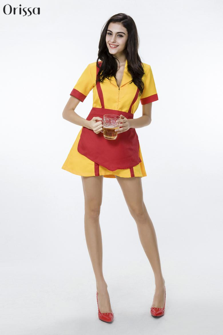 2015 tv show 2 broke girls costume caroline channing costume max