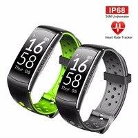 OGEDA Smart Horloge Mannen Hartslagmeter IP68 Waterdichte Fitness Tracker Bloeddruk Bluetooth voor Android IOS Vrouwen Man