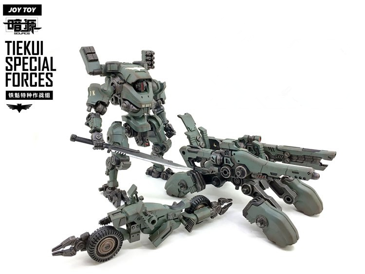 Action Figures 1:27 the 3rd generation TIEKUI MECH Motorcycle double turret Movable deformable combination кий cuetec action rd 2pc рп cr1102 rd