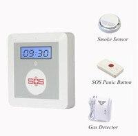 433 Mhz GSM Alarm Sistemi Ile Duman Sensörü ve Gaz Dedektörü
