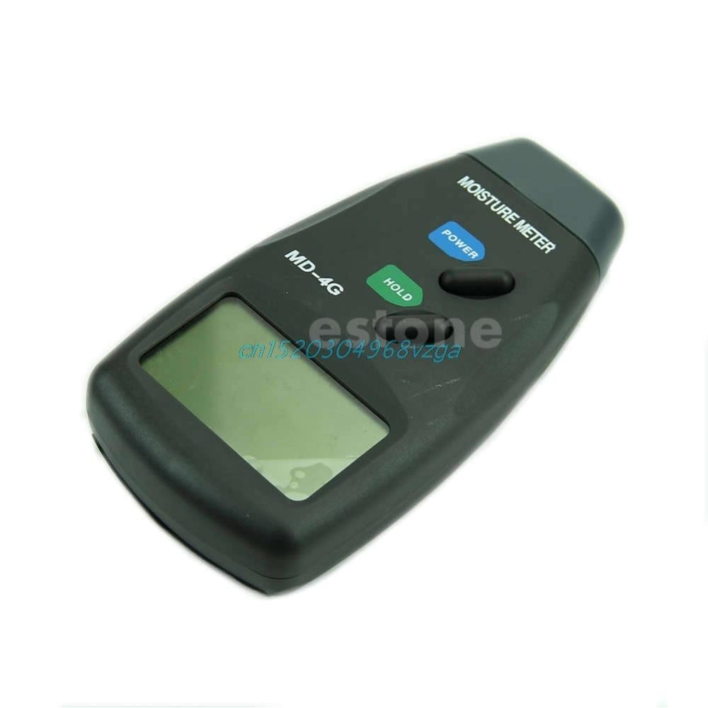 Digital 4 Pin Moisture Humidity LCD Wood Meter Damp Detector Tester 5% - 40% 1pc #H028#