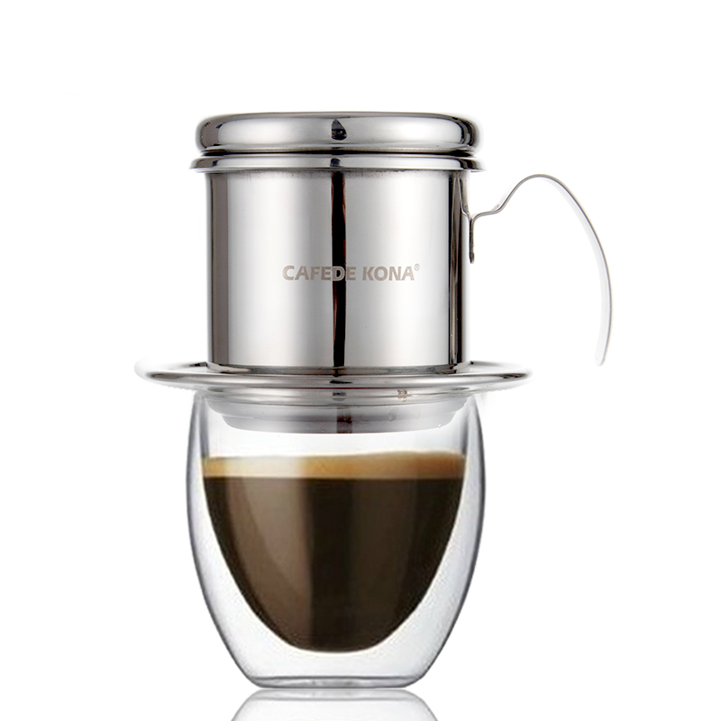 Aliexpress.com : Buy Coffee Pot The Drip Type Vietnamese Coffee Pot Brewing Household Stainless ...