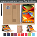 Multi-Function Wallet Flip Smart Cover Folio PU Leather Stand Case for Lenovo Yoga Tab 3 pro 10 10.1 inch Tablet X90F + LCD Film