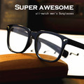 2016 Brand new summer aligeramiento Remaches en glasses Men cool marcos de los vidrios hombres lente transparente gafas de sol gafas de Lectura n528