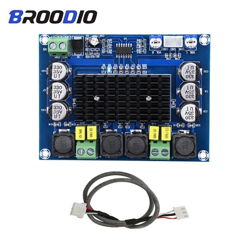 Placa amplificadora de potencia Digital TPA3116D2, módulo Amplificador de sonido para altavoces estéreo de escenario, DC12V-26V, TPA3116
