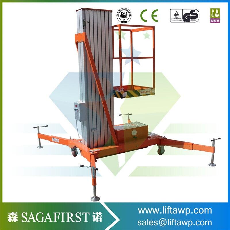 Portable Aluminium Aerial Work Platform With 8.5m Working Height