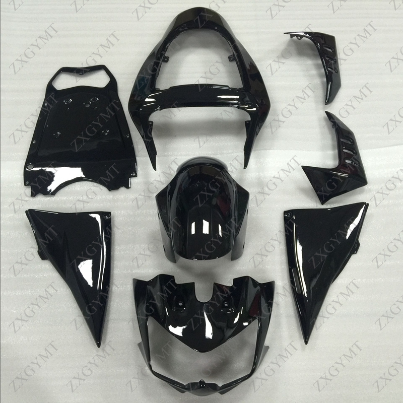 Fairing Kits 2003 - 2006 Black Plastic Fairings Z-1000 Z-750 Fairings for Kawasaki Z1000 Z750Fairing Kits 2003 - 2006 Black Plastic Fairings Z-1000 Z-750 Fairings for Kawasaki Z1000 Z750