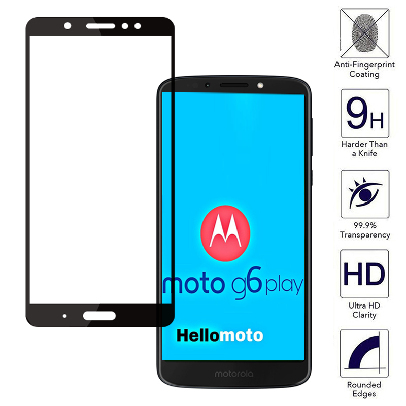 online store b0448 c4270 Full Cover For Motorola G6 Plus Play Case Tempered Glass For Motorola Moto  G5s E4 Plus G5 motog6 Protective Film G 6 G 5S Glass-in Fitted Cases from  ...