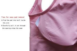 Image 5 - Plus Size Bras Women Solid Bra Big Size 4XL 5XL Bralette Push Up Brassiere Bra Vest Seamless Wireless Bra Female