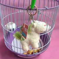 ขายส่งเยอรมนี unicorn พวงกุญแจจี้ตุ๊กตากระเป๋าเป้สะพายหลังกระเป๋าขนาดเล็กตกแต่งตุ๊กตา 12 ชิ้น/ล็อต