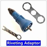 Electric Rivet Nut Gun Riveting Tool Cordless Riveting Drill Adaptor Insert Nut Tool